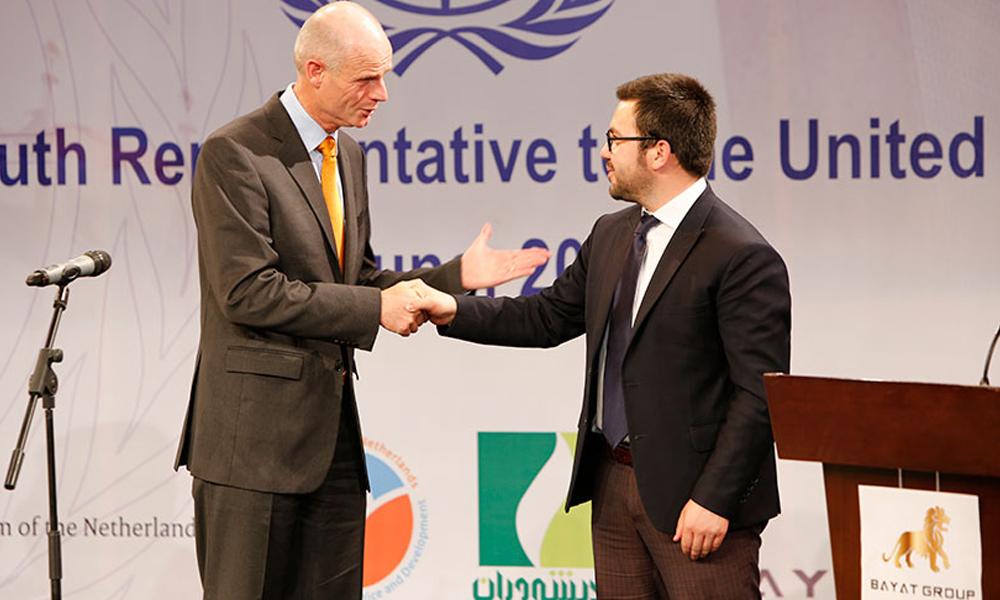 THE BAYAT FOUNDATION HOSTS VISIT OF NETHERLANDS FOREIGN MINISTER TO BAYAT MEDIA CENTER