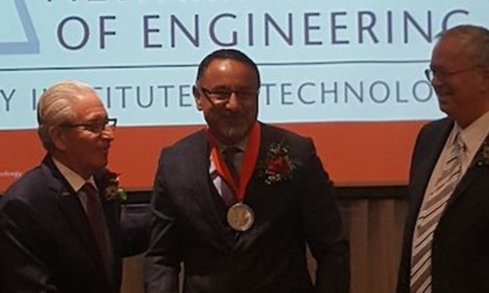DR. EHSAN BAYAT, FOUNDER AND CHAIRMAN OF THE BAYAT GROUP, INDUCTED INTO NEW JERSEY INSTITUTE OF TECHNOLOGY ALUMNI HALL OF FAME