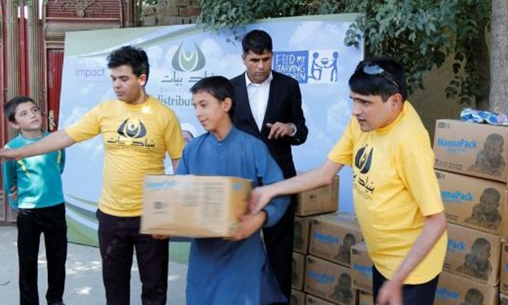 THE BAYAT FOUNDATION FOOD ASSISTANCE PROGRAM DISTRIBUTES 172,800 MEALS TO AFGHAN CHILDREN AND THEIR FAMILIES