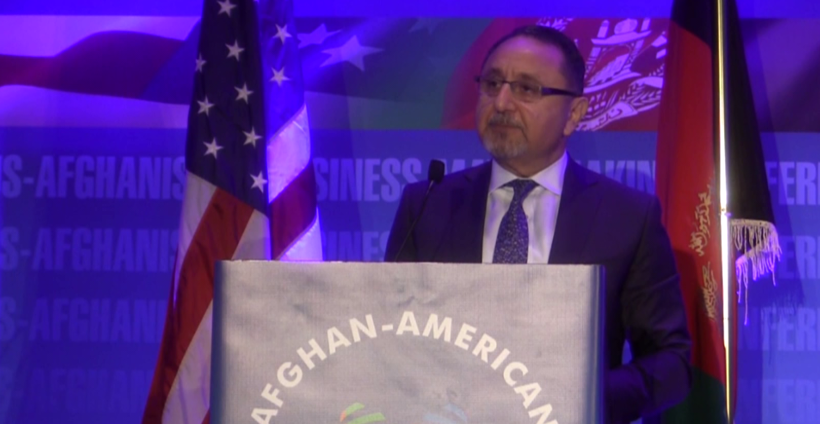 BAYAT GROUP FOUNDER AND CHAIRMAN DR. EHSAN BAYAT DELIVERS KEYNOTE ADDRESS TO AFGHAN AMERICAN CHAMBER OF COMMERCE ANNUAL BUSINESS CONFERENCE
