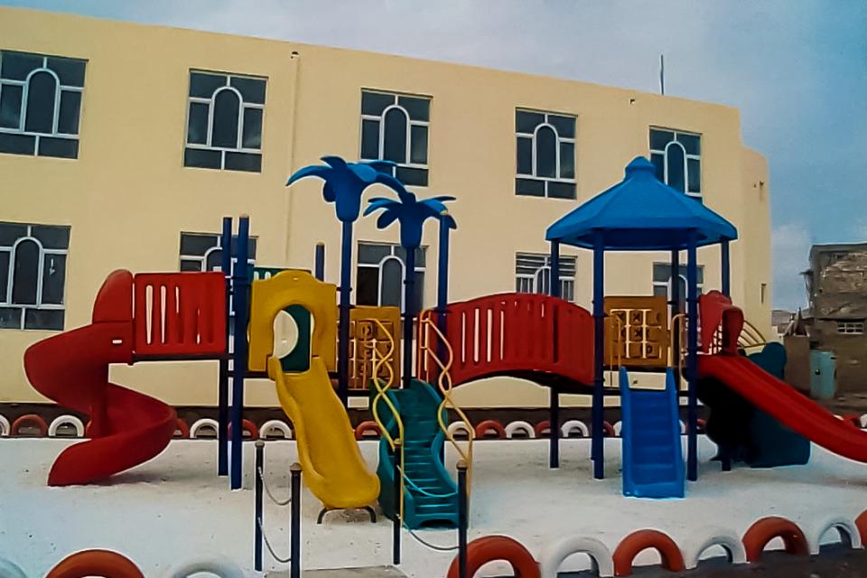 Playground at Orphanage