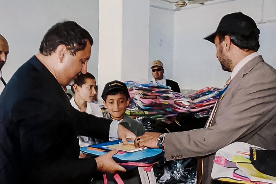 Donation of School Supplies